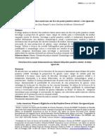 Direitos da mulher latino-americana em face do poder punitivo estatal