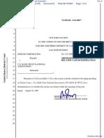 Finisar Corporation v. U.S. Bank Trust National Association - Document No. 8
