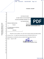 Finisar Corporation v. U.S. Bank Trust National Association - Document No. 8