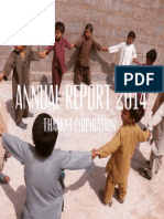 Thaakat Foundation Annual Report 2014