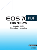 EOS 70D Wi-Fi Instruction Manual PT