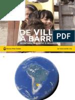 SECHI - De Villa a Barrio