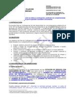 MODELO DE PLAN DE CONTINGENCIA ESTACION DE SERVICIOS CON GASEOCENTRO