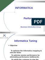 Informatica Tuning