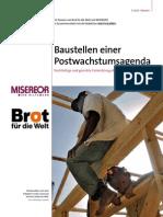 Baustellen Einer Postwachstumsagenda