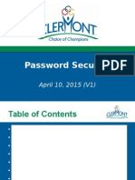 Password Presentation Online