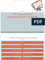 2 Week 2 - The Important of Business Documents