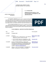 Leung v. Apple Computer, Inc. et al - Document No. 2