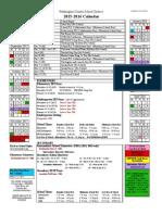 wcsd calendar 2015