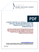 Homosexuality and the Catholic Church