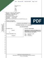 IO Group, Inc. v. Veoh Networks, Inc. - Document No. 88