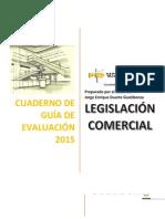 Cuaderno de Guía de Evaluación Legislación Comercial