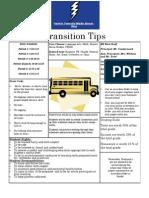 tips handout