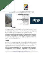 Estudio Del Efecto de Los Vehiculos Cañeros en El Deterioro