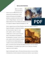 REVOLUCIÓN FRANCESA, Burguesa, La Revolucion Industrial