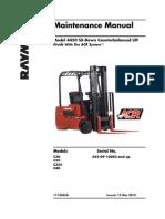 Manual de mantenimiento Preventivo Montacargas Raymond
