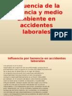 INFLUENCIA DEL MEDIO AMBIENTE EN ACCIDENTES LABORALES