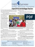 Community Partners' April 2015 Newsletter