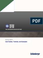 UserGuides Tutorials Examples OFM 2014