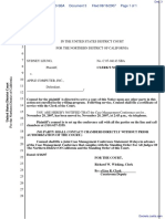 Leung v. Apple Computer, Inc. et al - Document No. 3