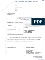IO Group, Inc. v. Veoh Networks, Inc. - Document No. 89