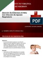 Atención de Enfermera Al Niño Con Infección De