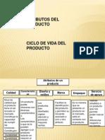 Atributos y Ciclo de Vida de los Productos