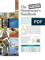Homeowners Handbook - GreenBuilder 2012