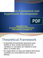 Variables and Hypothesis