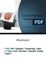 Cranial Nerves Assessment