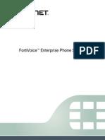 FortiVoice 4-0-200Duser Guide