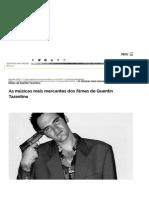 As Músicas Mais Marcantes Dos Filmes de Quentin Tarantino _ MHM