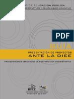 DIEE Guía para presentación de proyectos ante la DIEE abreviados 2da Ed 2010