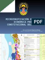 Microzonificación Ecológica Económica  - Provincia Constitucional del Callao