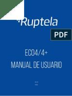 ECO4_4+ user manual ES v1.5