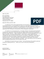jennifer edson cover letter