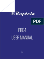 PRO4 User Manual v1.0