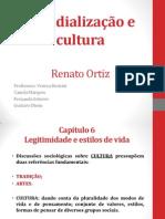 Mundialização e Cultura Cap 6 aula