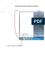 Escanear Un Documento o Imagen