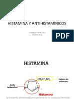 Histamina y Antihistamínicos H12012