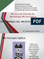 Introduccion a La Morfologia Microscopica CIU