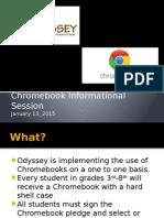Title I Chromebook Parents' Informational Session