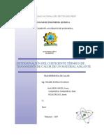 Informe-laboratorio1- Transferencia de Calor