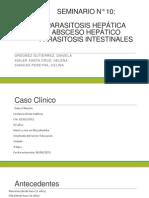 Parasitosis Intestinal y Hepática. Absceso Hepático