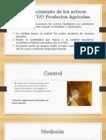 Reconocimiento y Medición en activos biologicos segun Normas Internacionales de información financiera.