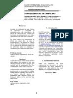 8practica Lab de Elec 1 -Transistores de Efecto de Campo Jfet