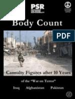 4 Millones de Muertos en Afganistán, Pakistán e Irak desde 1990