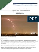 Como Fotografiar Tormentas Electricas