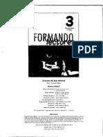 FORMANDO LECTORES 3°