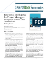 Emotional Intelligence for Project Managers, May 2, 2014